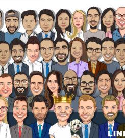 Caricature Artist in UAE – Get Caricature, Cartoons, Caricature Gifts Online Dubai
