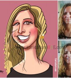 Book your caricature today!