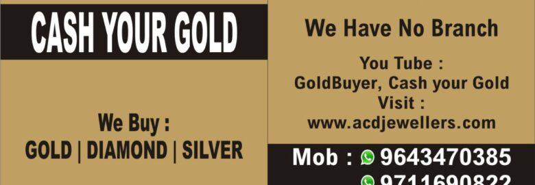Get Cash For Your Gold in Delhi